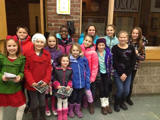 Ashford Ballet visits SOTA Annie Production to Watch one of Their Own